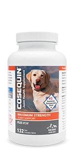 Cosequin Maximum Strength Plus MSM Chewable Tablets for Joint Support