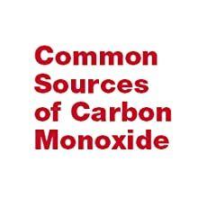 Common sources of Carbon Monoxide
