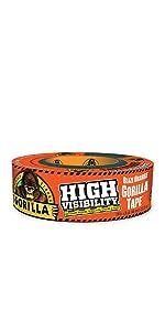 Gorilla High Visibility Blaze Orange Duct Tape Hunting safety marking demolition