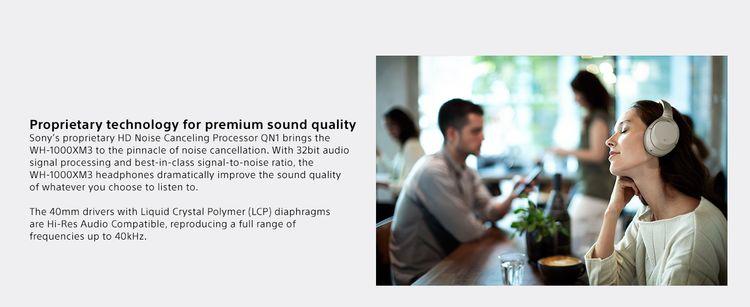 Premium Sound Quality