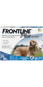 Frontline Plus flea tick treatment for medium dog