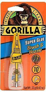 Gorilla Brush & Nozzle Super Glue