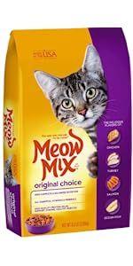 meow mix cat food dry