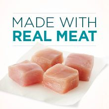 Made with real meat