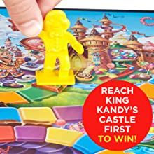 candyland; candy land; milton bradley games; king kandy; easy kids games; classic kids games