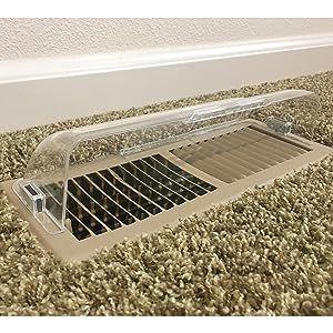 floor register air vent deflector