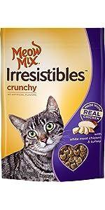 crunchy cat treats; hard cat treats; chicken cat treats; turkey cat treats