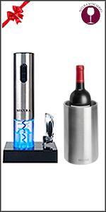 wine opener+wine cooler