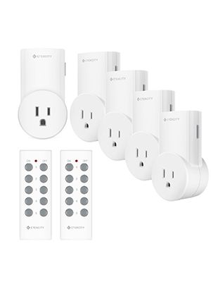 Etekcity Wireless Remote Control Outlet Light Switch for Lights, Lamps, Christmas Decorations