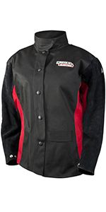 Womens Welding Jacket; Female; Jessi Combs; Flame Retardant; FR; Lincoln Electric;