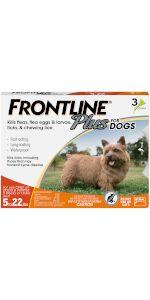 Frontline Plus flea tick treatment for small dog