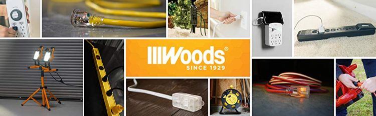 woods, extension cords, timers, work lights, outlet extension cords,home automation