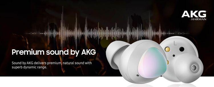 Samsung Galaxy Buds - Premium sound by AKG