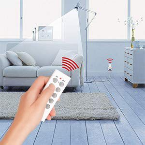 remote control your lamps,fans,etc.It's a feasible way to help improve your work efficiency