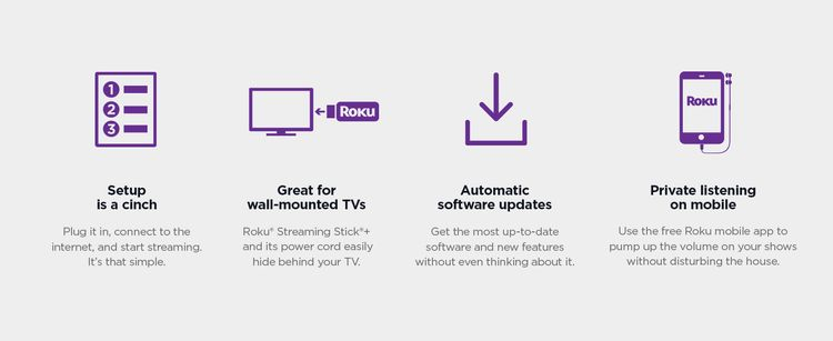 Roku Streaming Stick+ setup is a cinch, great for wall-mounted TVs, automatic software updates