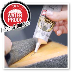 Gorilla Clear Grip contact adhesive acrylic weldon glue waterproof plexiglass sheet polycarbonate
