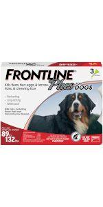 frontline plus flea tick treatment extra large dog