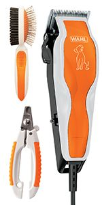 wahl easy pro clipper kit corded cordless haircut for dogs animals horses equine pet coat fur hair