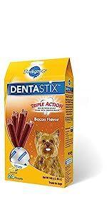 DentaStix, Bacon, Dog, Treats, Oral Care, Treats, Reduces Tartar and plaque, freshens breath