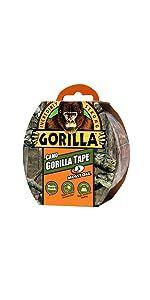 Gorilla Camo mossy oak duct tape camoflauge hunting fishing outdoors
