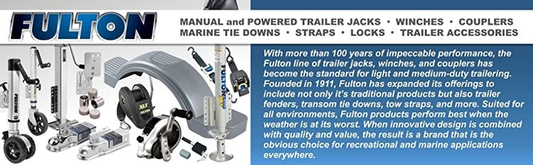 Fulton Trailer Jacks Jack Winch Coupler Tie Down Marine Strap Lock Towing Accessories
