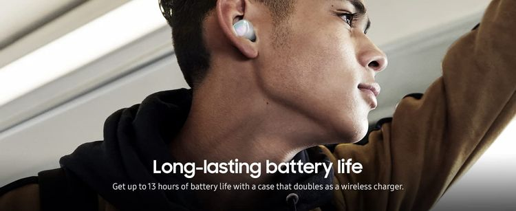 Samsung Galaxy Buds - Long lasting Battery Image