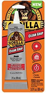 Gorilla Clear Grip waterproof Contact Adhesive