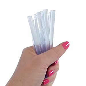 transparent clear hot glue sticks