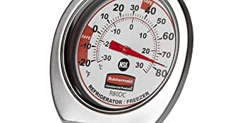 Rubbermaid Commercial Products Refrigerator/Freezer Thermometer
