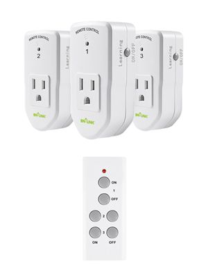 BN-LINK Wireless Remote Control Outlet Switch