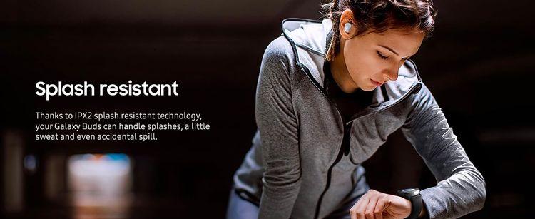 Samsung Galaxy Buds - Spash resistant image