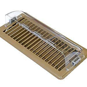 air register deflector vent