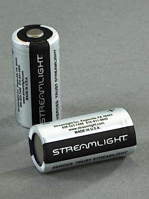 Streamlight CR123A Batteries