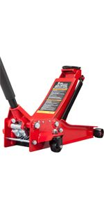 Torin BIG RED Hydraulic Ultra Low Profile Floor Jack