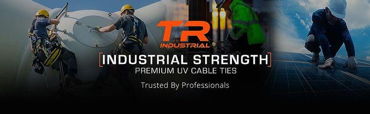 TR Industrial Industrial Strength Premium UV Cable Ties