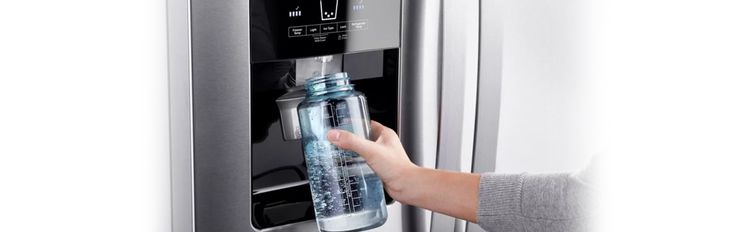 refrigerator water filter, reduction rates