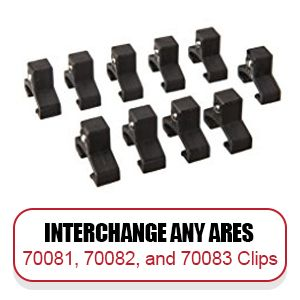 Socket rail clips are interchangeable and available in many drive sizes