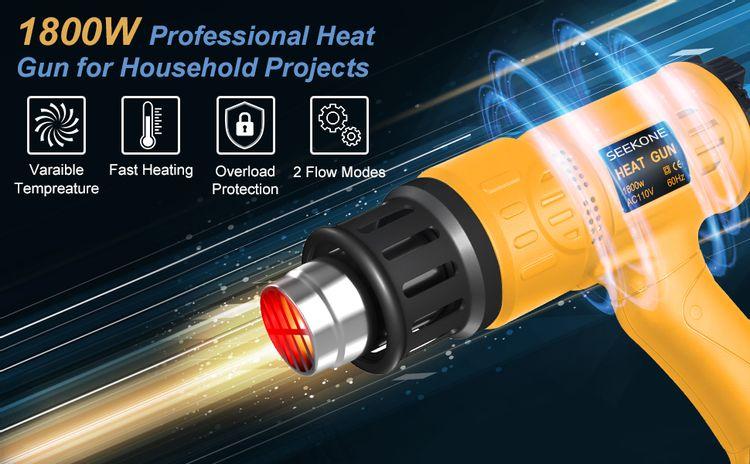 heat gun for shrink wrap wrapping tubing heat gun for electronics soldering heat gun for vinyl wrap
