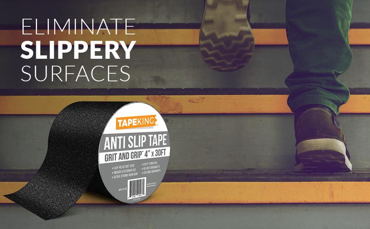 Tape Tapeking king anti-slip grip slip anti adheasive peel roll rolls aluminum oxide waterproof high