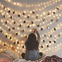 Wanderlust wall decor-hang up shang up some photos fairy lights on the wall or hang from the ceiling