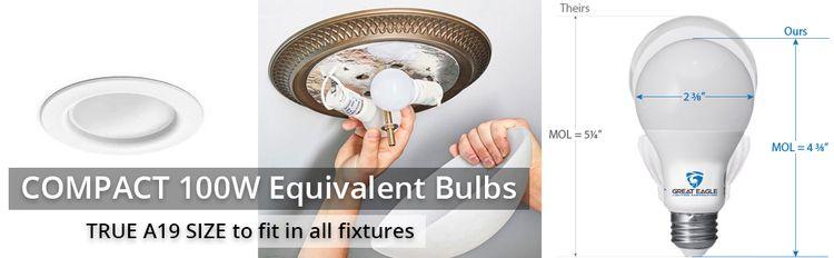 compact led bulbs